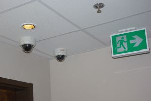 CCTV and Sprinkler